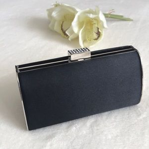 Lulu Townsend Black evening clutch,never used!